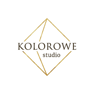 kolorowe studio przezroczyste logo